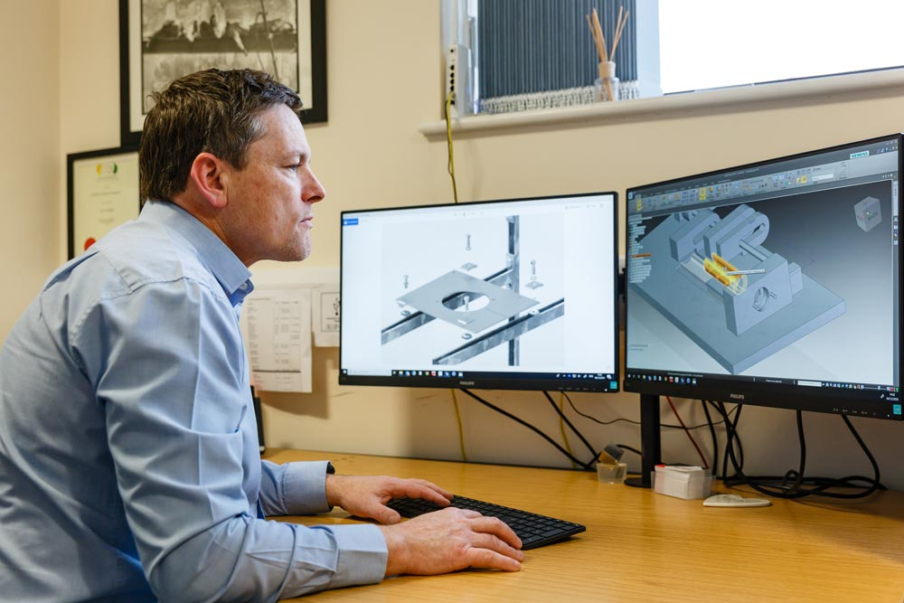 Geosense Engineering department uses state of the art 3D design software