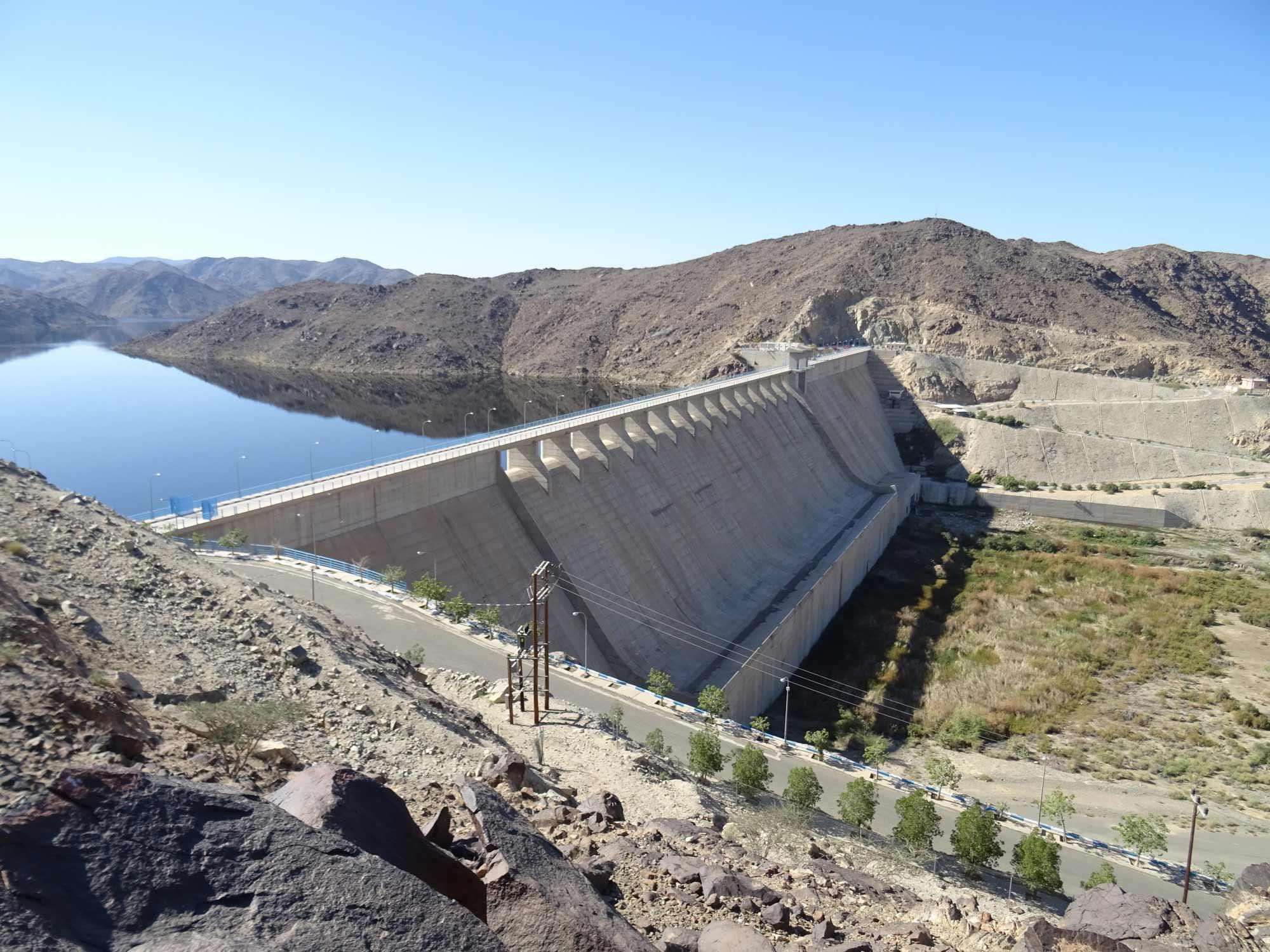 Baish Dam Kingdom of Saudi Arabia