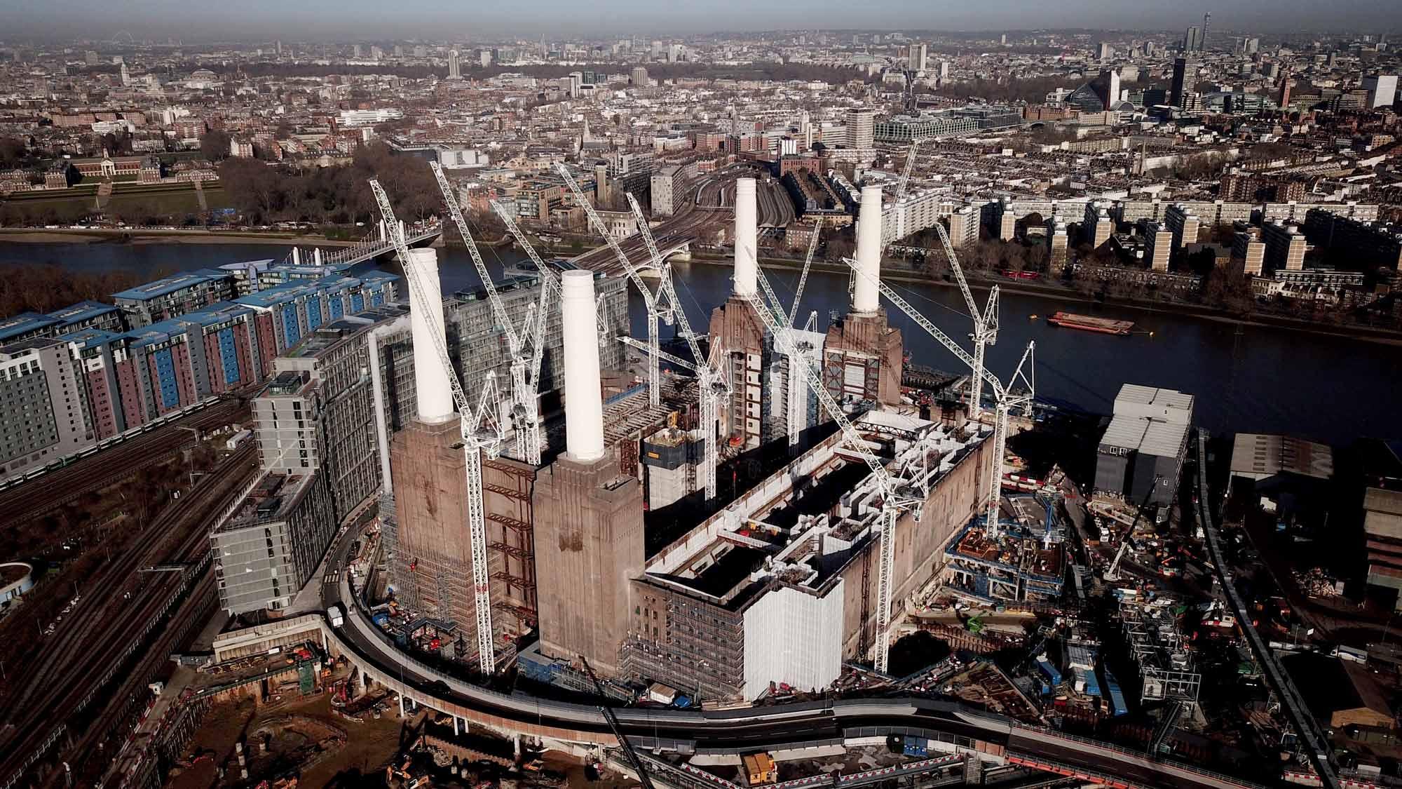 Battersea Power Station & One 9 Elms re-development
