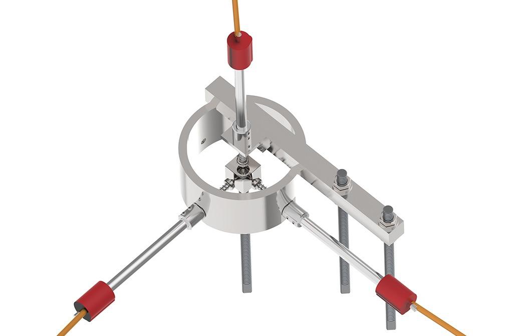 VW 3D Crack Meter VWTCM-4600