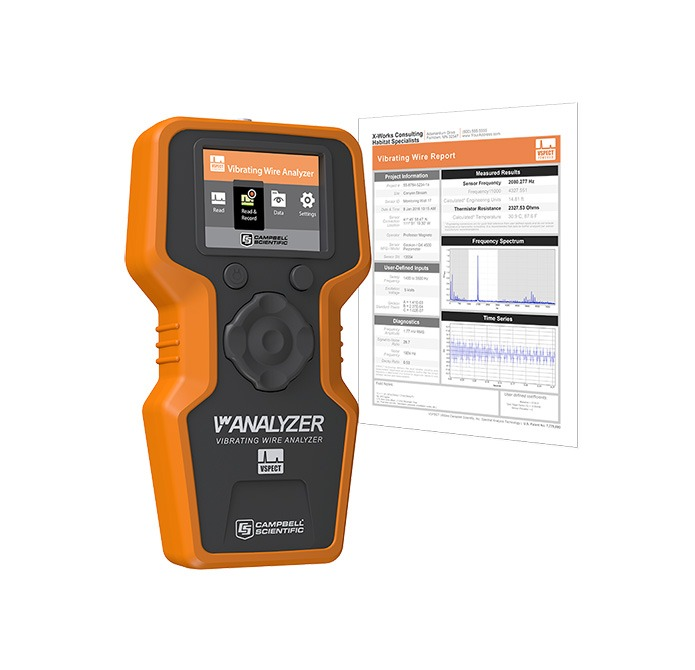 Vibrating Wire Analyser