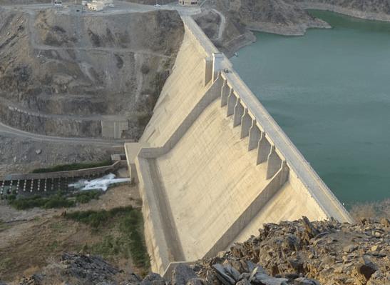 Baish dam Saudi Arabia