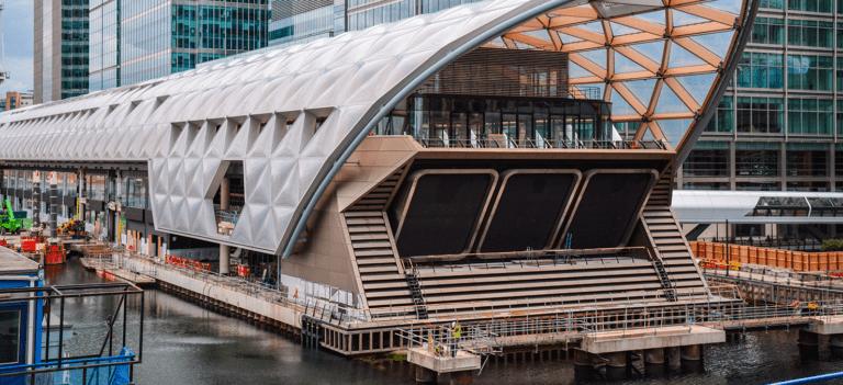 Crossrail Canary Wharf Station
