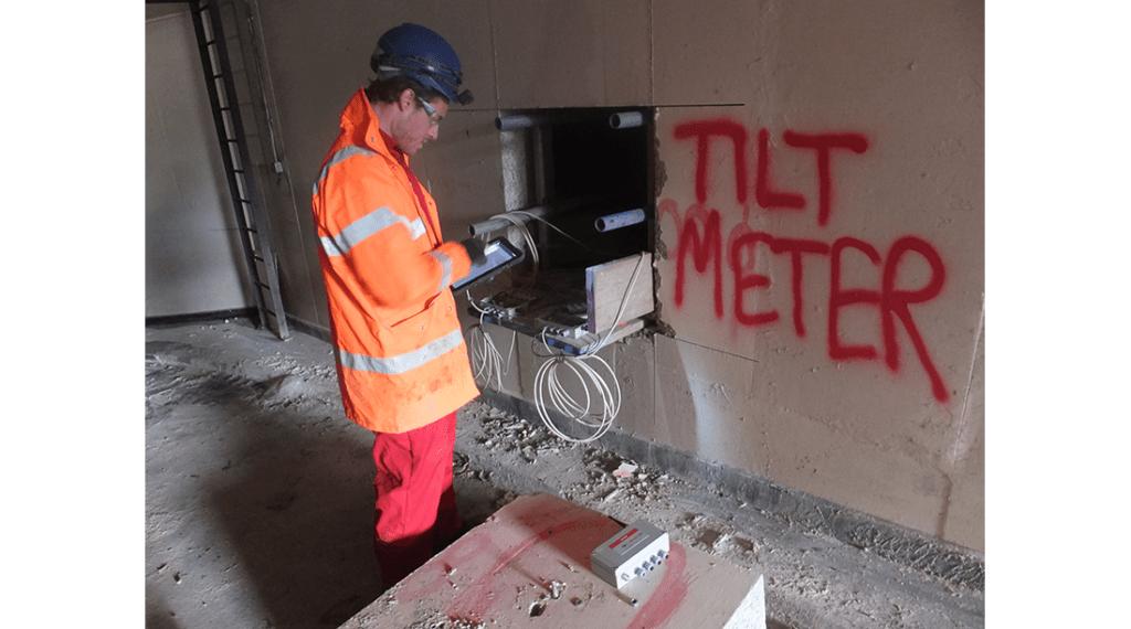 Engineer installing WI-SOS Node