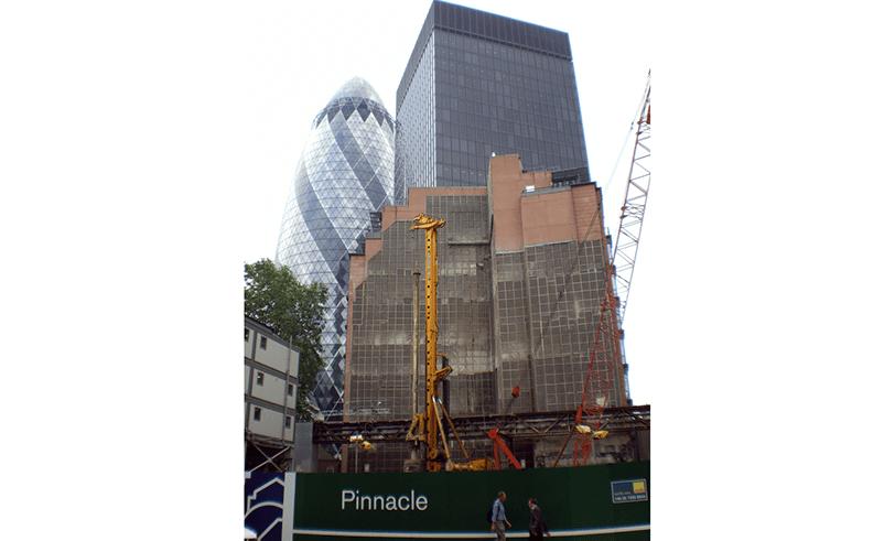 Bishopsgate Tower London tilt monitoring