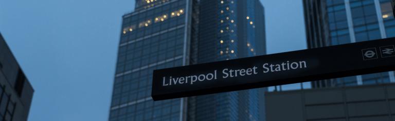 Crossrail C501 Liverpool Street Station