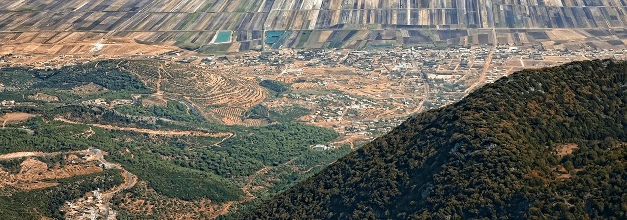 Aerial view of Zeizoun area