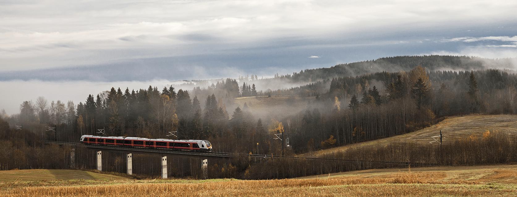 Gardemobanen Venjar – Eidsvoll Rail Track