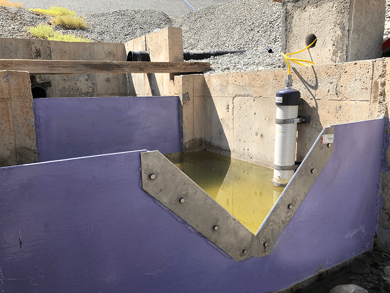 V-Notch Weirs and Tanks